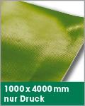 1000 x 4000 mm   nur Druck