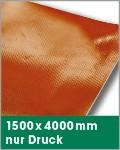 1500 x 4000 mm   nur Druck